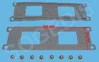 Miniature RAIL LAVE-VAISSELLE GUIDE PANIER SUPÉRIEUR