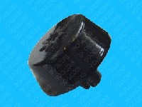 Miniature BOUTON Plaque POUSSOIR BRUN
