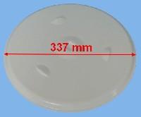 Miniature PLATEAU FOUR MICRO-ONDE BLANC D337 =EPUISE