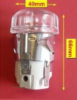 Miniature DOUILLE CUISINIÈRE LAMPE COMPLETE