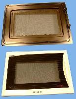 Miniature PORTE MICRO ONDE COMPLETE BLANC =EPUISE