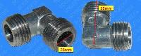 Miniature COUDE Plaque ARRIVEE GAZ M/M