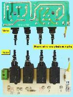 Miniature Commutateur Hotte 4 BOUTONS 08080277 SVA691