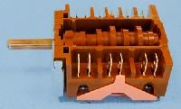 Miniature COMMUTATEUR CUISINIÈRE FOUR 4+0 POSITIONS