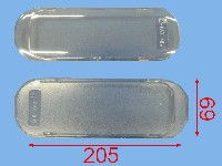 Miniature PLAFONNIER Hotte 205*70
