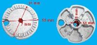 Miniature TETE Plaque BRULEUR Auxiliaire