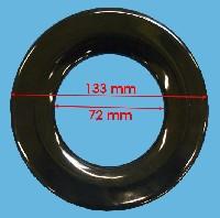 Miniature CHAPEAU CUISINIÈRE EXTÉRIEURE CENTRAL ext:133mm int=70mm