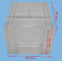 Miniature BAC FROID LEGUMES TRANSPARENT OPAQUE 245*184*299 420768