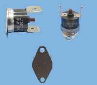Miniature THERMOSTAT FOUR LIMITEUR 120°C