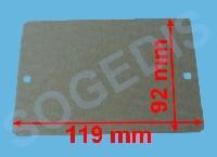 Miniature PLAQUE MICRO ONDE MICA