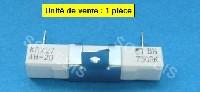 Miniature RESISTANCE  FOUR CERAMIQUE VTR KRX27 4H-20 BN 750RK  110°C