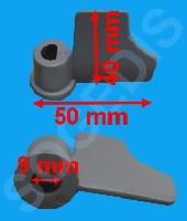 Miniature BRAS PETIT ELECTRO MÉNAGER PETRISSEUR PALE PETRIN MACHINE A PAIN 1/2 CUVE =EPUISE - 1
