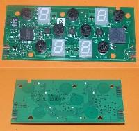 Miniature PLATINE Plaque COMMANDE 75.13105.010 V1-22