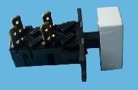 Miniature Interrupteur Lave-Vaisselle M/A +BOUTON Blanc - 1