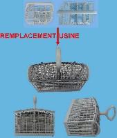 Miniature PANIER LAVE-VAISSELLE COUVERTS