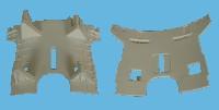 Miniature FLASQUE Lave-Linge SUPPORT MOTEUR