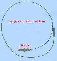 Miniature BOUGIE CUISINIÈRE SEMI-RAPIDE 600mm