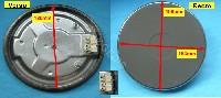 Miniature PLAQUE CUISINIÈRE ELECTRIQUE 180MM 1500W 8mm COSSES HP-F180